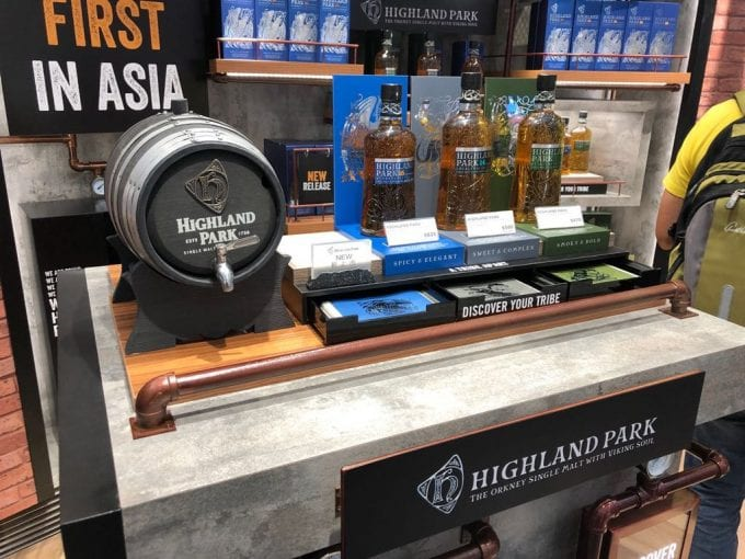 Highland Park's new duty-free exclusives make Asia debut at Hong Kong HKIA