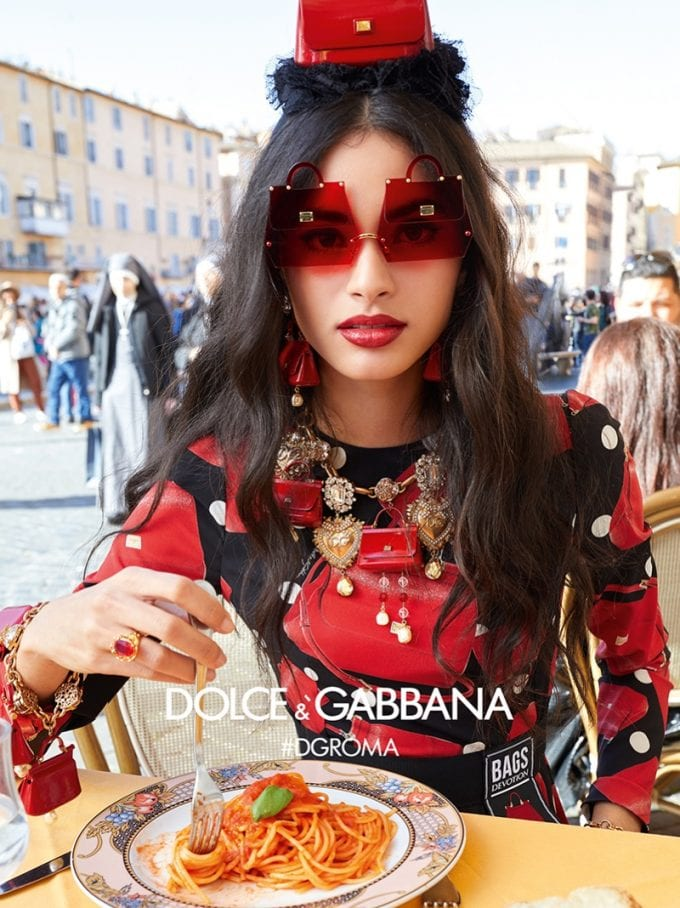 Eye-Catching! Dolce&Gabbana's eyewear takes trip through Rome
