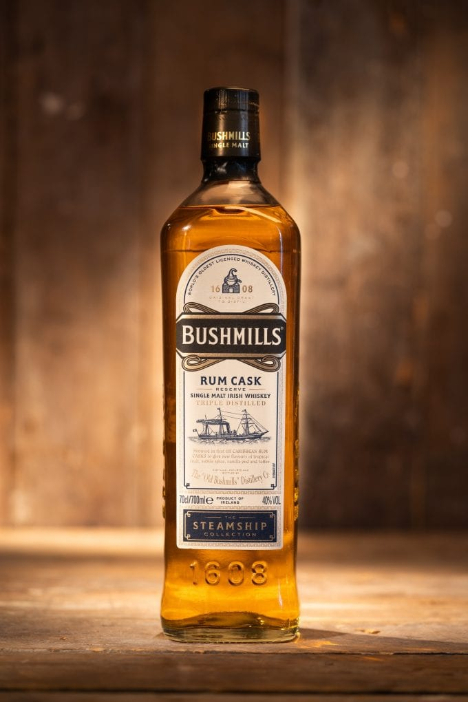 Bushmills Steamship Collection expands with new Rum Cask Reserve