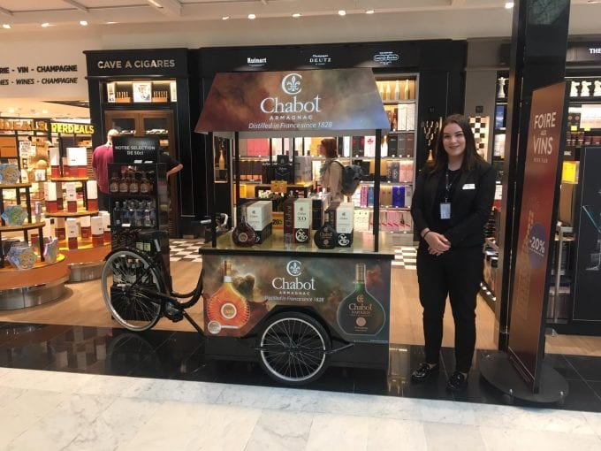 Chabot brings a taste of Armagnac to Paris CDG duty-free stores