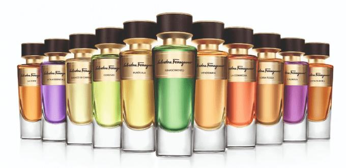 Salvatore Ferragamo unveils Tuscan Creations fragrance compendium