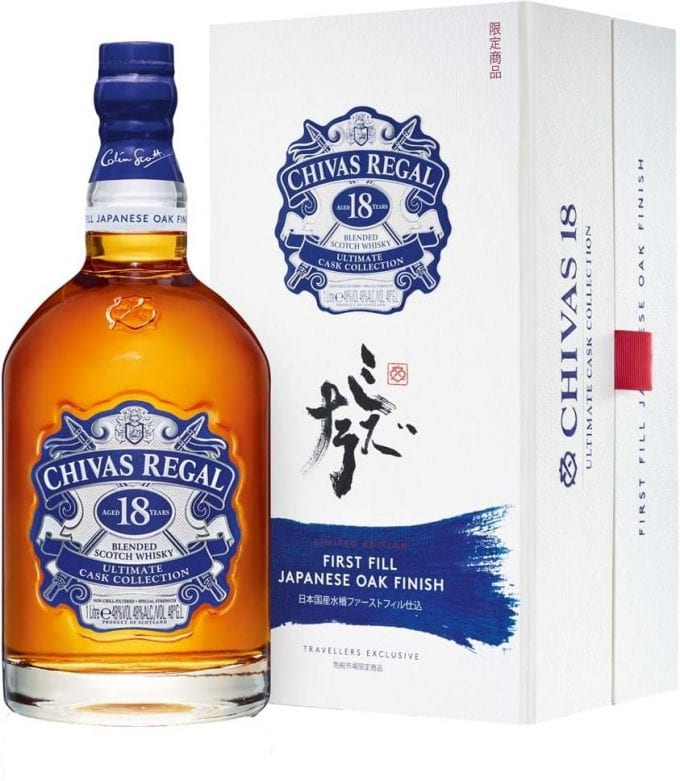 Chivas Regal launches Ultimate Cask Collection Japanese Oak, a new limited-edition duty-free exclusive