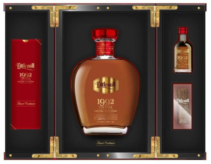 Rare Littlemill Vintage 1992 Malt Whisky to launch as duty-free exclusive