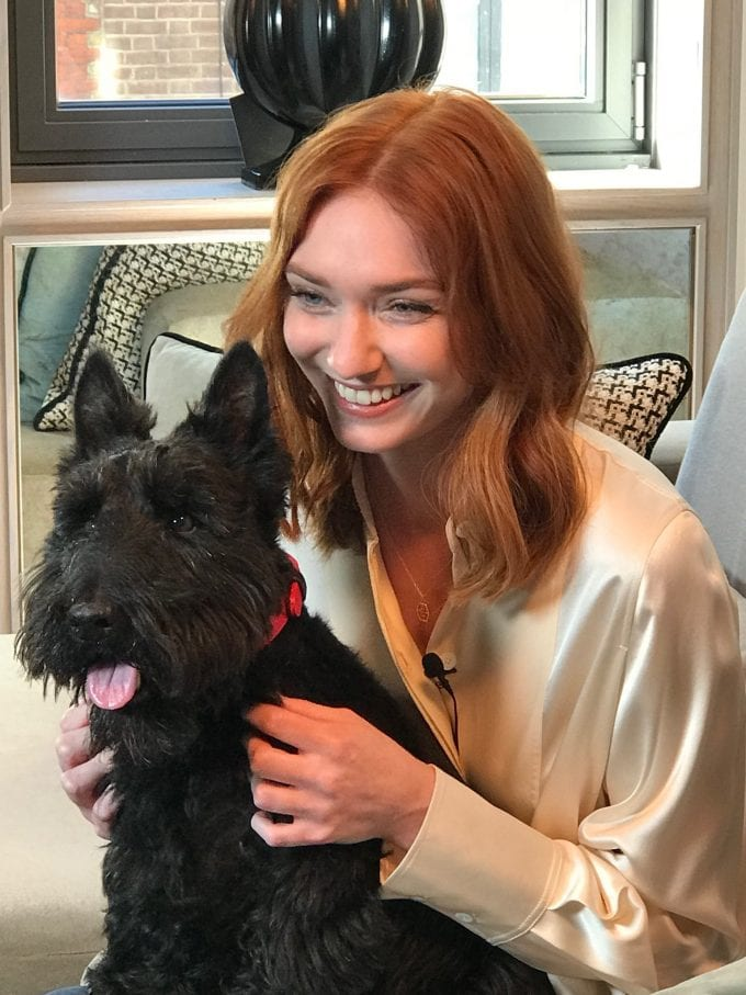 Radley London signs Eleanor Tomlinson as the face of new Radley Spirit
