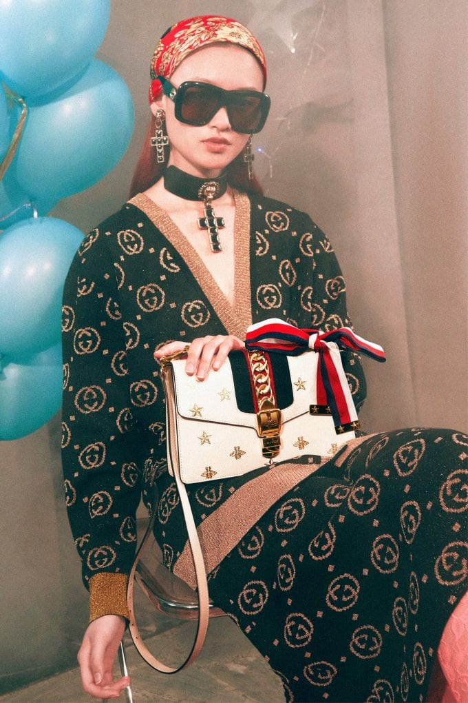 Gucci gets the party started with gift giving campaign