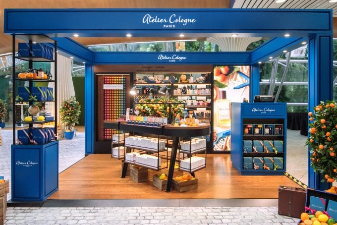 Atelier Cologne opens its Paris rooftop pop-up at Kuala Lumpur International Airport