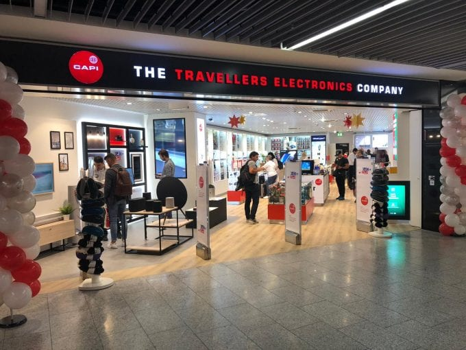 Frankfurt Airport unveils the first 'Omnichannel' Travellers Electronics store