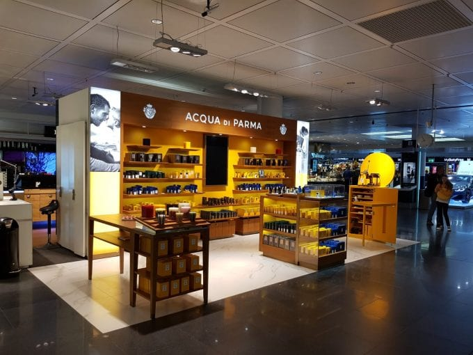 Acqua di Parma brings its Italian style to Munich Airport