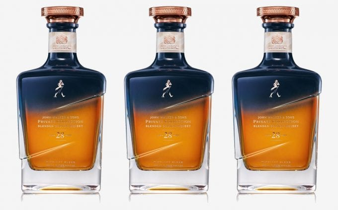 Johnnie Walker releases limited-edition 28-year-aged Midnight Blend whisky