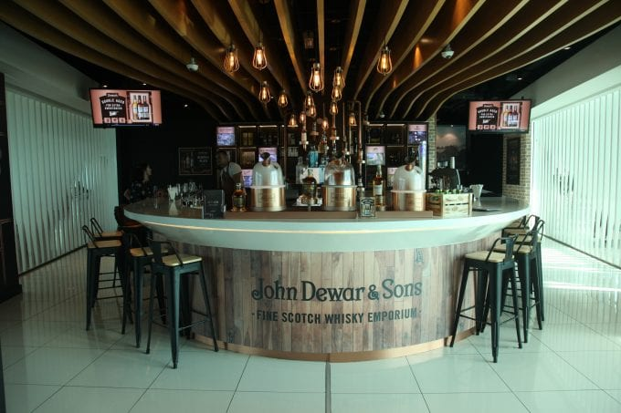 Dewar's Whisky opens a destination bar for travellers at Kuala Lumpur Airport