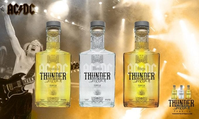 AC/DC's Thunderstruck Tequila rocks into duty-free exclusively with Heinemann