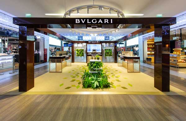 Bulgari encourages travellers to disconnect with Paris CDG airport pop-up