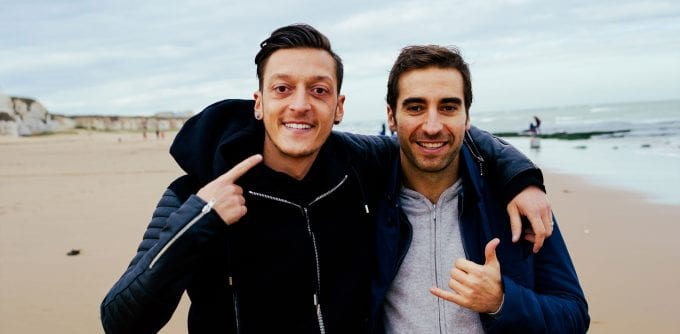 Arsenal's Mesut Özil guns for grooming glory with new UNITY brand