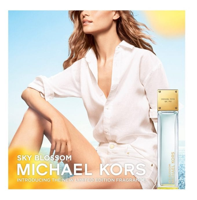 Michael Kors launches fresh new limited edition scent – Sky Blossom