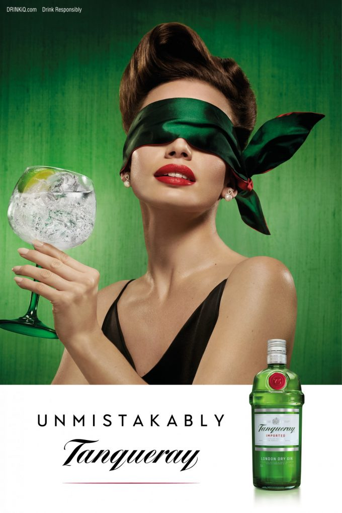 Unmistakably Tanqueray campaign puts the focus on taste