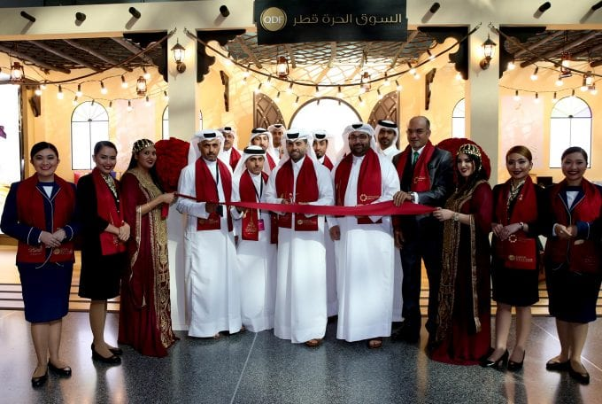 Qatar Duty Free just opened two souqs at Doha's Hamad Airport