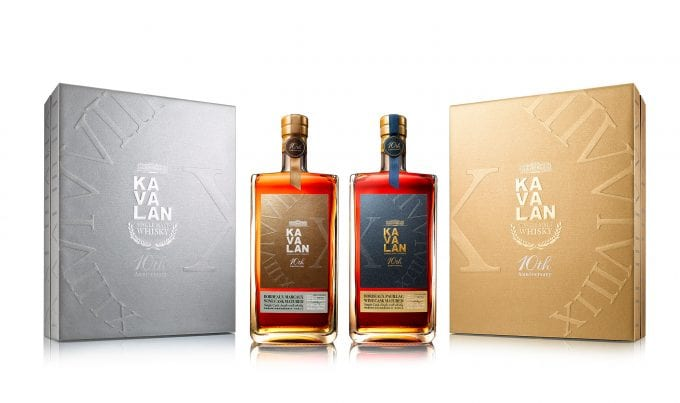 Kavalan unveils 'First Growth Bordeaux' Cask-Aged Whiskies limited to 3,000 bottles