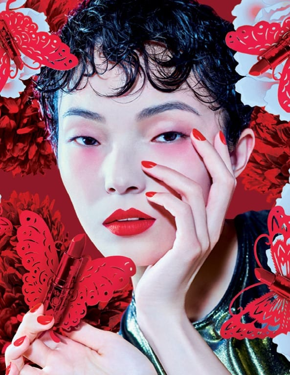 MAC blooms in red for Lunar New Year limited edition