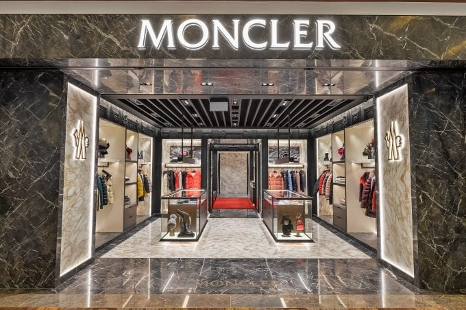 Moncler slides more luxury into Singapore Changi with cool new boutique