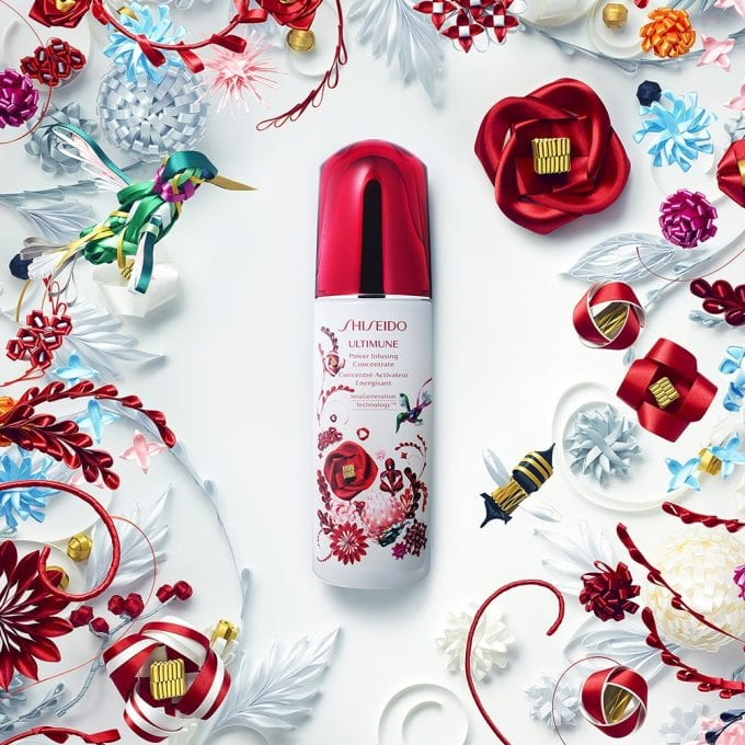 Shiseido's Holiday Collection 'Ribbonesia' is a Gift of Beauty for travellers