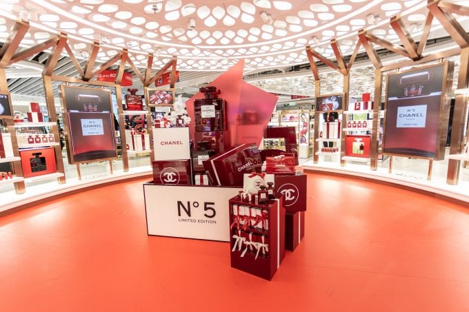 Beauty&You teams with Chanel, Dior, Burberry for Christmas at Hong Kong International
