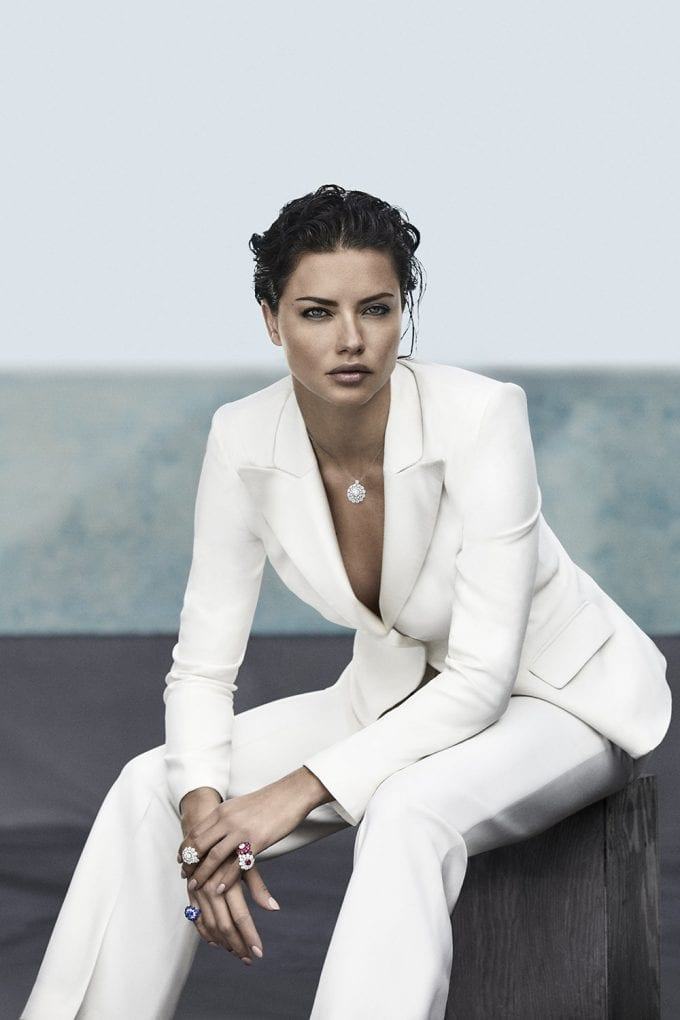 Chopard's Magical Setting collection dazzles with Adriana Lima