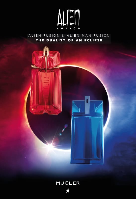 Mugler beams in with new Alien Fusion fragrances