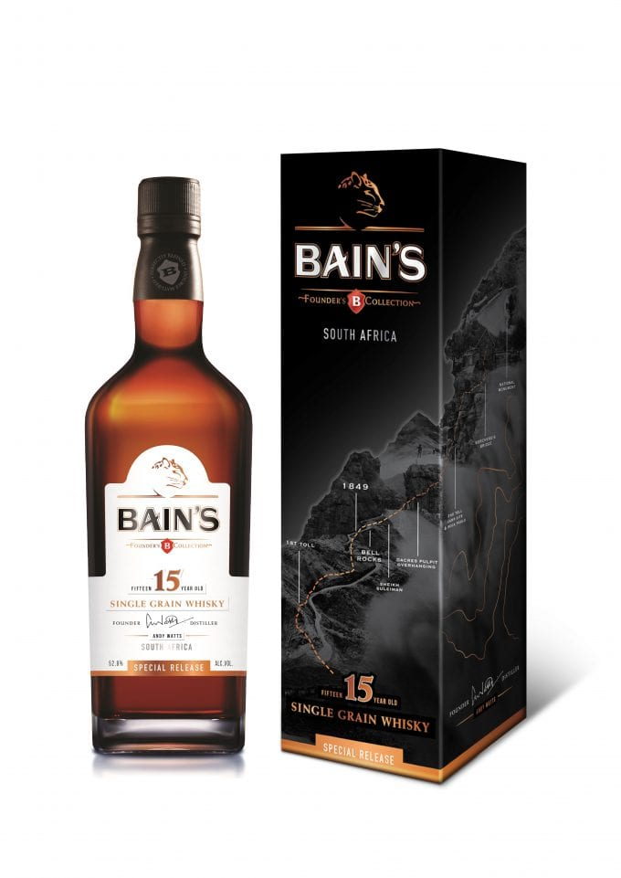 South Africa's first single grain malt whisky launches duty free exclusive limited edition at Johannesburg Airport