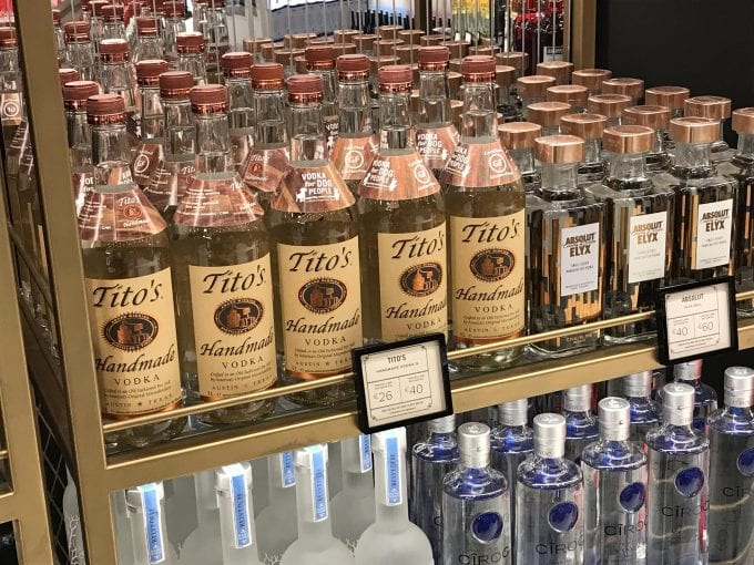 Tito's Handmade Vodka debuts at Dublin Airport's The Loop Duty Free