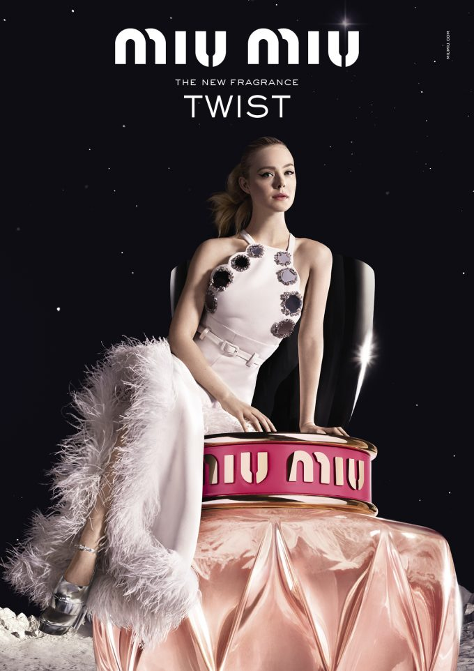 Miu Miu reveals its quirky new fragrance – twist