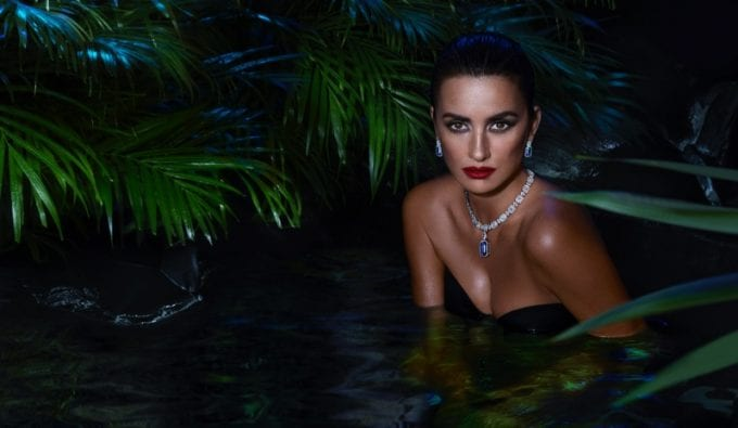 Penelope Cruz sparkles for new Atelier Swarovski jewellery collection