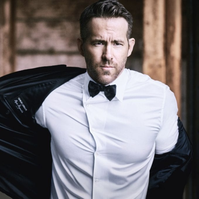Ryan Reynolds is the new face of Armani Code