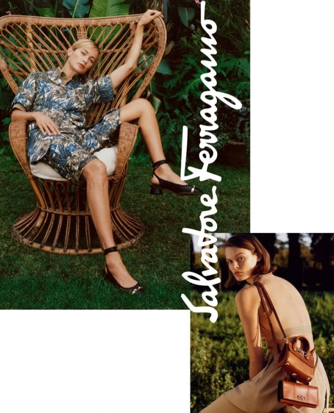 Salvatore Ferragamo's Patchwork of Characters step out for Summer