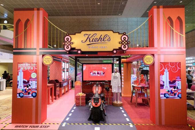 Kiehl's treats CNY travellers with immersive pop-up at Singapore Changi