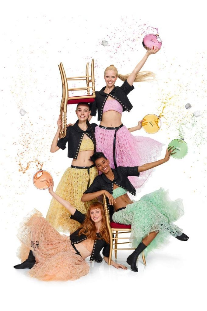 CHANEL takes a new CHANCE: Eau Tendre launch and campaign by Jean-Paul Goude