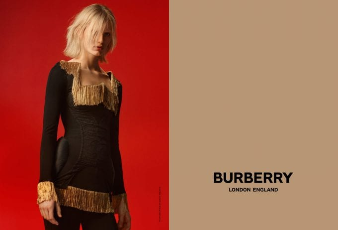 Burberry reveals a new aesthetic, new era under Riccardo Tisci