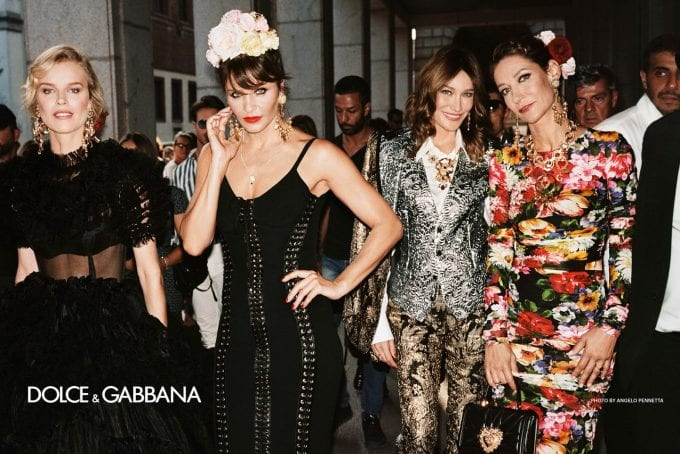 Dolce & Gabbana hit the streets for new Spring campaigns