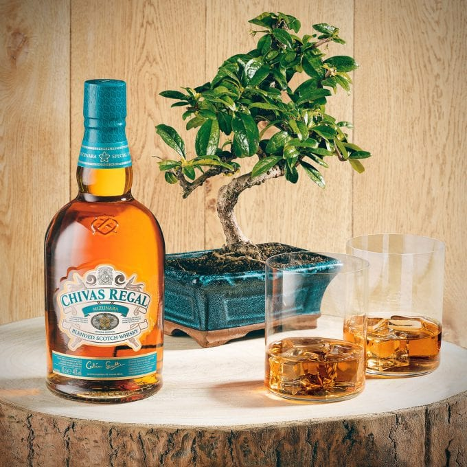 Chivas Regal Mizunara launches exclusively in European duty-free with Heinemann
