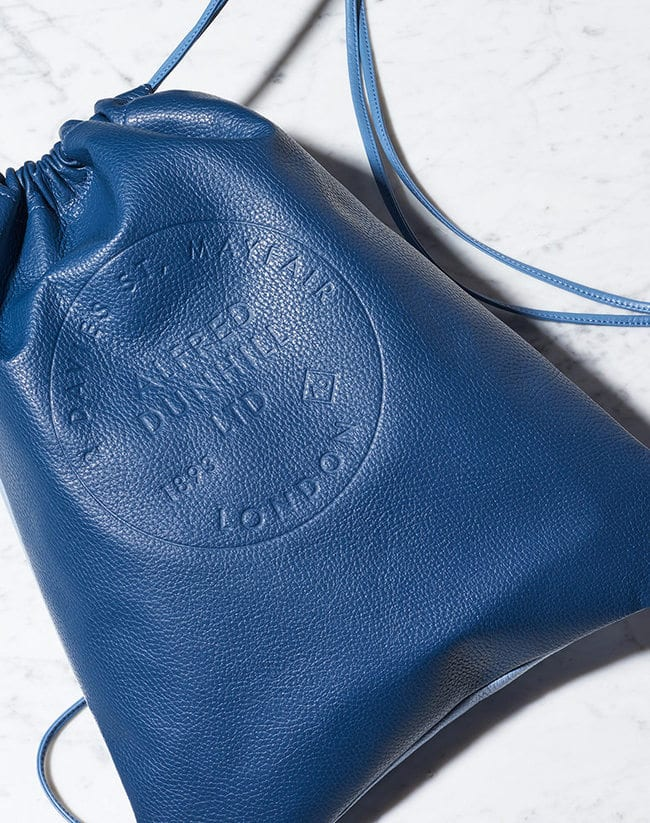 Dunhill looks East: Brit brand partners with Mr. Bags for White Day