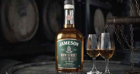 Jameson to launch second Bow Street 18 Year Old Cask Strength whiskey