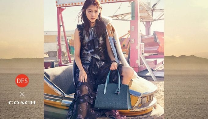 DFS x Coach unveil 'From New York with Love' exclusive collection for travellers 💖