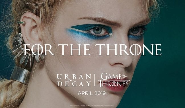 Urban Decay reveals Game of Thrones beauty collection is coming