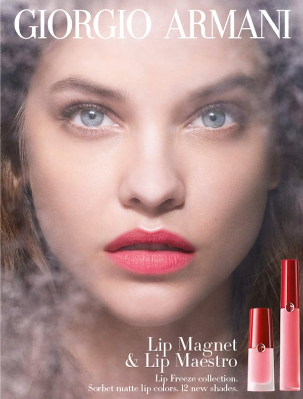 Giorgio Armani unveils LIP FREEZE editions of its iconic lip colours