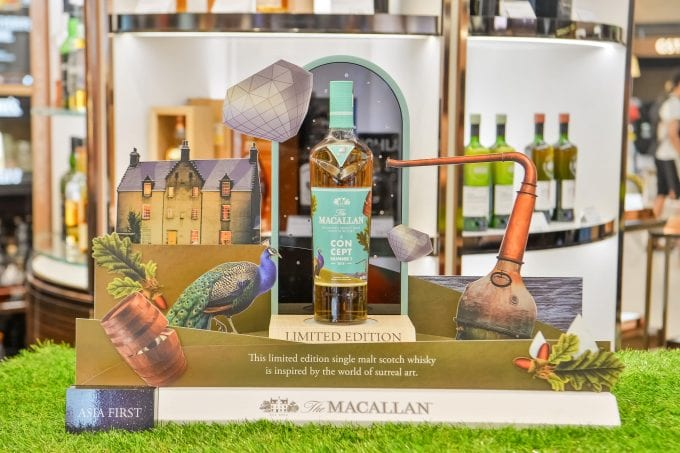 The Macallan Concept Number 1 makes a surreal statement on Asia duty-free debut