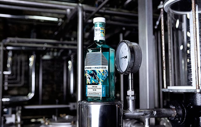 Method and Madness Irish Micro Distilled Gin set for duty-free launch
