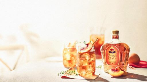 What a Peach! Crown Royal launches a Juicy and Sweet Limited-Edition