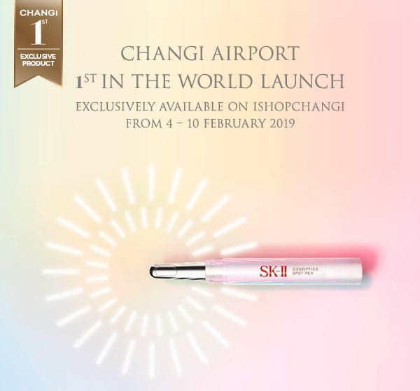 Singapore Changi hosts worldwide exclusive launch of SK-II GenOptics Pen