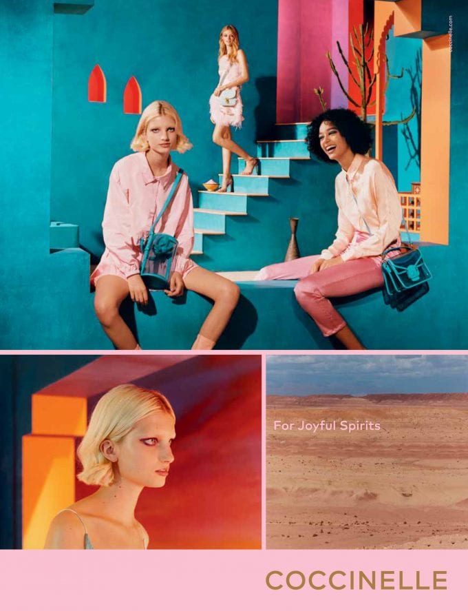 Coccinelle heads to Morocco to unveil Joyful Spirits campaign