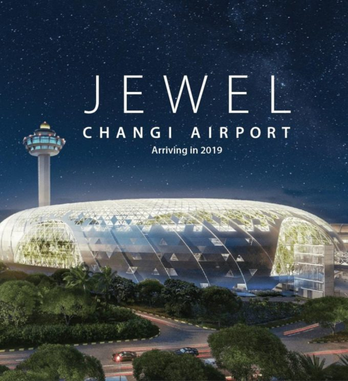 Spectacular Jewel at Changi Airport will welcome the world this April