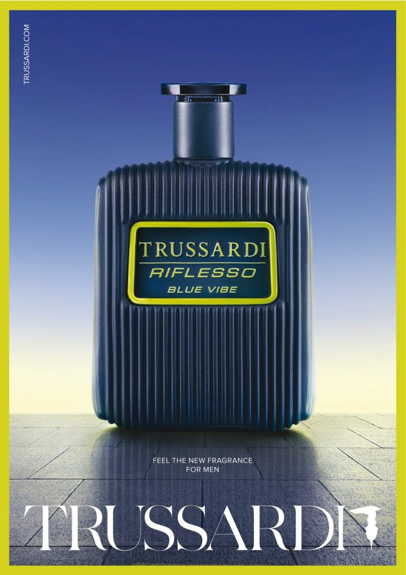 9a96beb74 Break Free from the routine: Trussardi launches dynamic new men's fragrance  Riflesso Blue Vibe